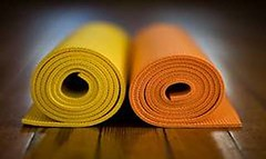 yoga-mats (Wicker Park Grace) Tags: chicago yoga emergingchurch wickerparkgrace spiritualpractice
