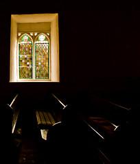 Church window (Sian Bowi) Tags: light church window wales cymru stmichaels ceredigion pews penbryn d700 sianbowi llanfihangelarybryn