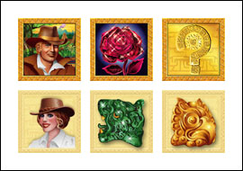 free Treasure Chamber slot game symbols