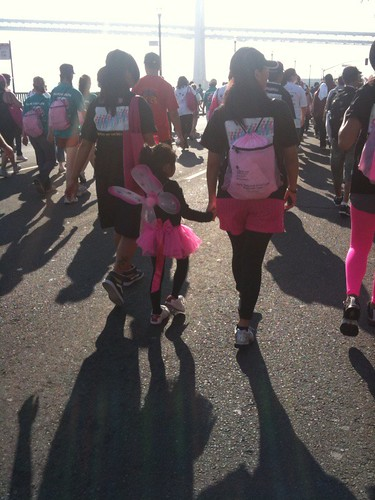 It's always important to look your best at the Breast Walk