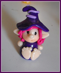 Piedone Viola (Bettina*) Tags: handmade fimo viola piedi folletto piedoni