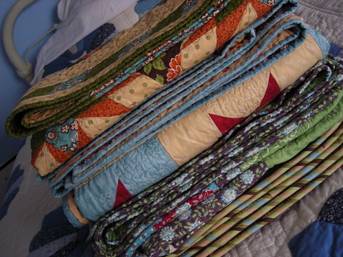 Stack o' quilts