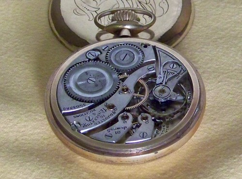 Burlington Chicago Pocket Watch