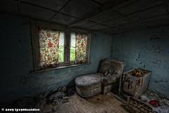 Little backroom... (~lp1986soldier~) Tags: urban abandoned window photoshop dark goal decay sony exploring creepy spooky 300 alpha zwart oud glas hdr decayed donker wasmachine wijn urbex doel leeg cs3 vroeger verlaten raampje lp1986soldier