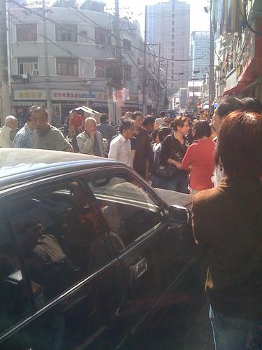 shanghai street fight