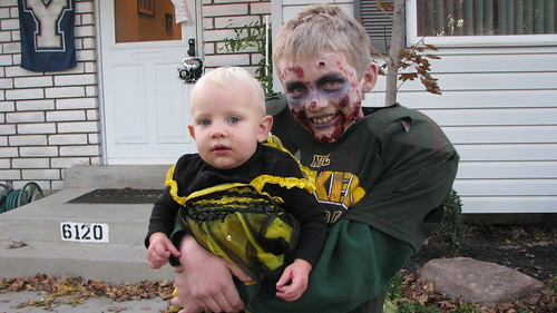 The zombie FB player and his Bee sister