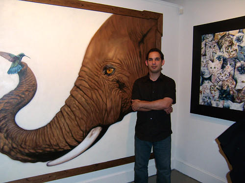 PB051396-2009-11-05-Trilogy-Art-Gallery-Jardiel-Diaz-Nunes-Elephant-Cats