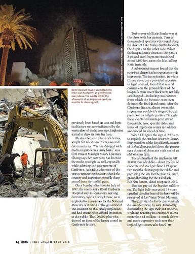 Boss Magazine - Fall 2009 - Page 14