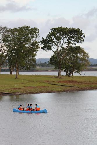 Canoeing at Caliraya