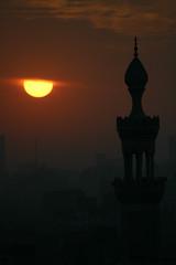 Sunset, Al-Azhar Park (HijabMan) Tags: sunset desert muslim mosque azhar parkegypt