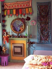 bedroom (Romany Soup) Tags: interiors rooms boho ethnic