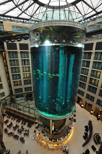 AquaDom at Radisson, SAS - Berlin, Germany