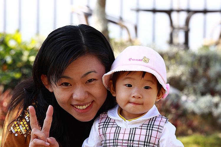小亞瑜和媽媽2