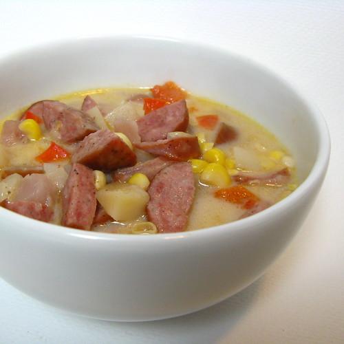 Corn & Sausage Chowder