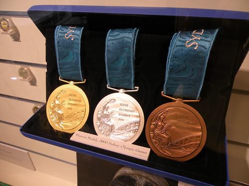 Комплект олимпийских медалей