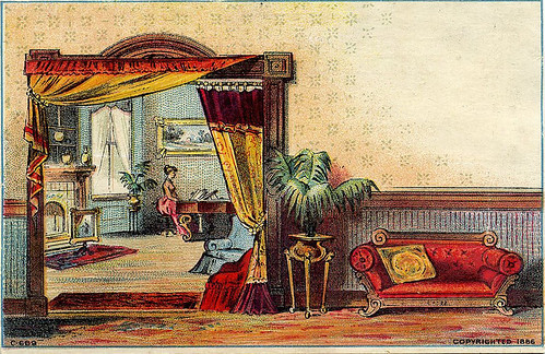 Victorian Trade Card-ad imprinted on back
