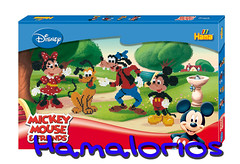 Set de regalo grande Mickey Mouse y amigos (Mickey,Minnie,Donald,Pluto)