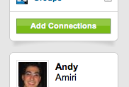 LinkedIn Peeling Up Screenshot