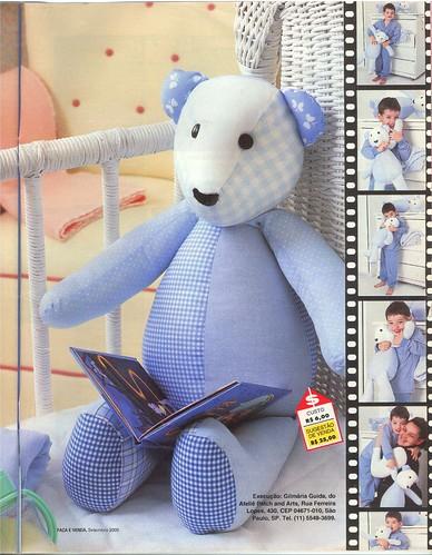 Urso patchwork