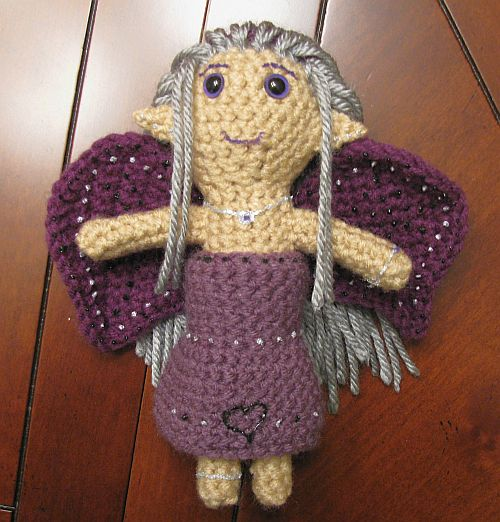 Ruthie's purple fairy doll