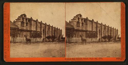 Otra imagen de la iglesia en una fotografía estereoscópica de fines del siglo XIX.