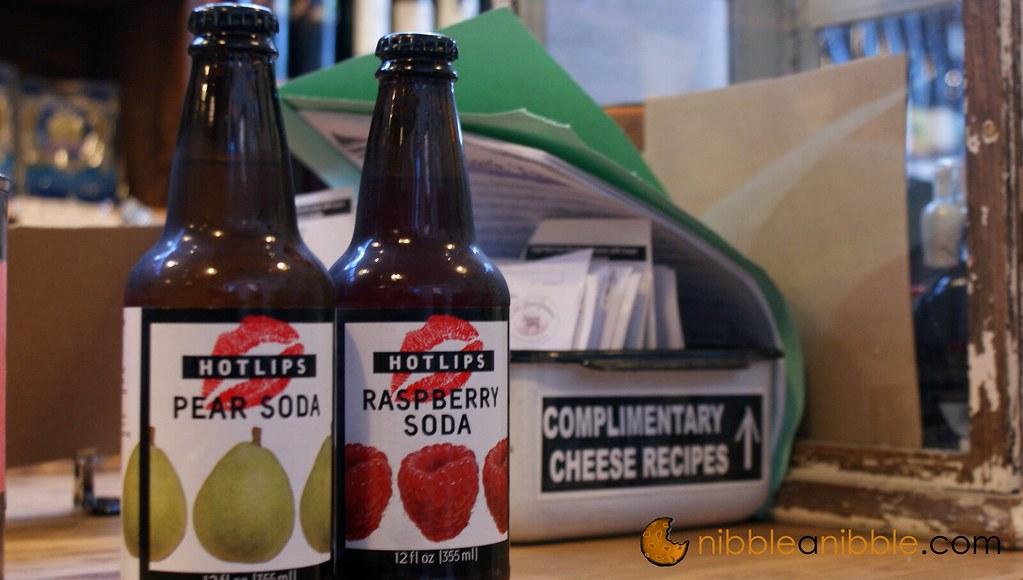 Raspberry and Pear Soda