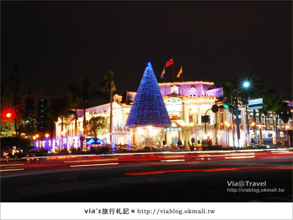 台中耶誕節活動-台中市政府耶誕裝飾3