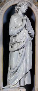 Andrea della Robbia, Annunciazione, Siena, Osservanza