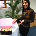 Yaili and her cupcakes