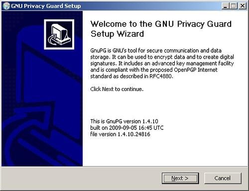 GNUPGStep01