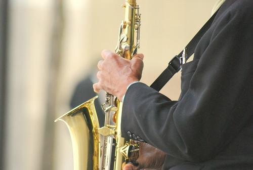 Saxophonist - Hands