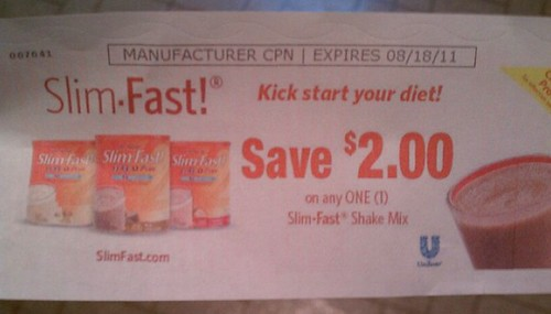 Slim-Fast! Kick start your diet!
