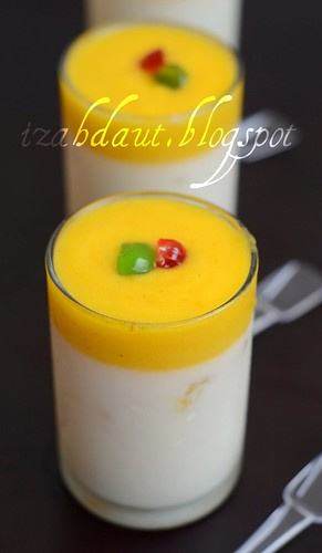 panna cotta pineapple