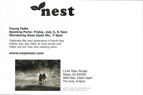 """Young Folks""Opening July 3rd At Nest Gallery!"