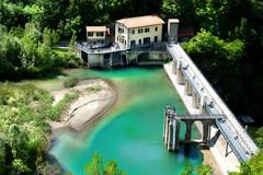 DIGA (Maurizio Bacci) Tags: nature water estate natura toscana emotions colori emozioni diga fiumi