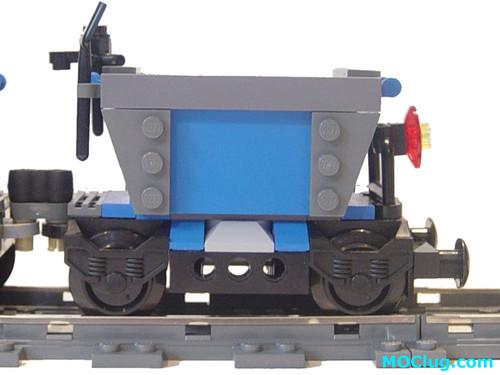 LEGO MOC - Dwarf Mining Train - End Car - a photo on Flickriver
