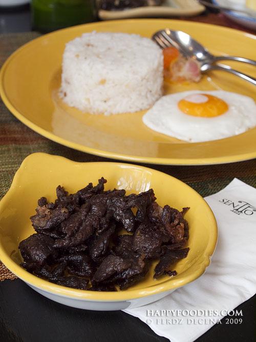 dried beef sirloin tapa (P350)