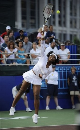 Serena in DC Tennis