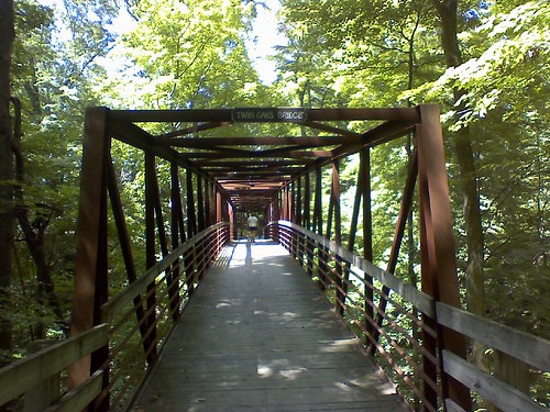 Twin Oaks Bridge on the Carriage Trail  Cuyahoga Valley Natl Pk