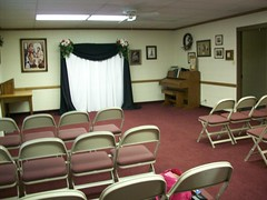Decorating The Night Before - Ceremony Room