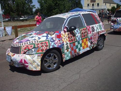 Quilt Art Minivan! - Sisters