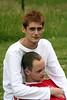 Simon and Owen (calmeilles) Tags: 2005 pride simonbowbrick owenblacker