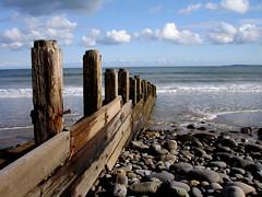 Amroth Beach Groyne (funkysuite) Tags: west beach wales sony south groyne amroth groin p200 dsc05104k