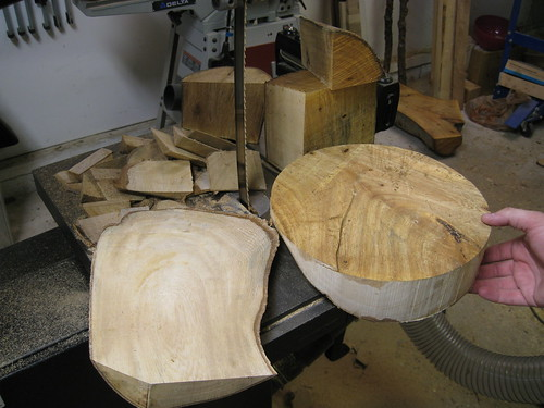 turning blanks and scraps