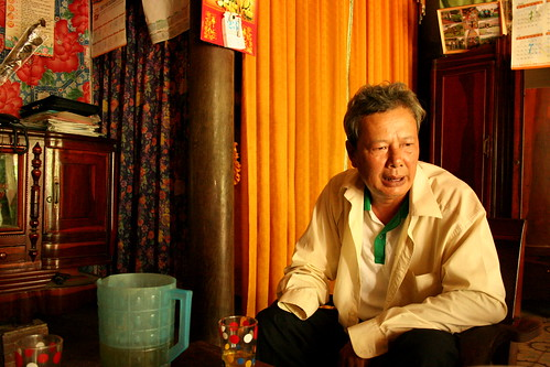 Mr. Phong in his home