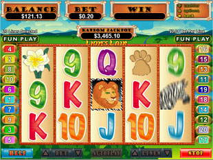Lion's Lair slot game online review