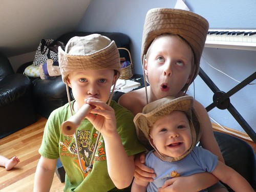 My little cowboys