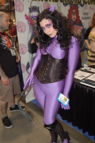 Comic Con 09: Catwoman