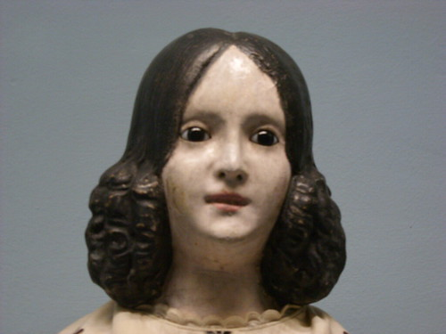 antique doll at the Shelburne Museum