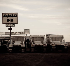 3 trucks @ Anasazi Inn